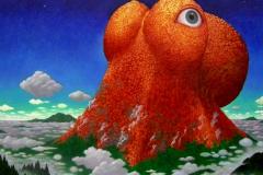 ムコウの山が目を開く
